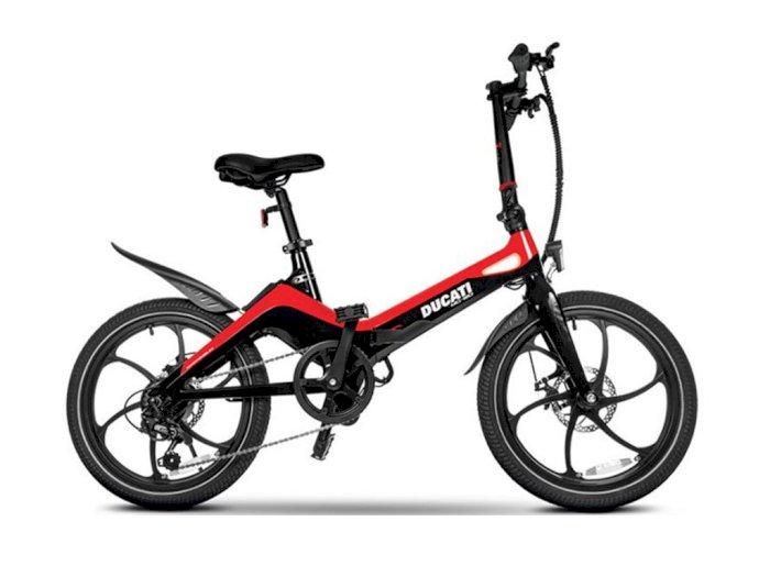 Ducati Luncurkan Sepeda Lipat Listrik dengan Harga Capai Rp27 Jutaan!