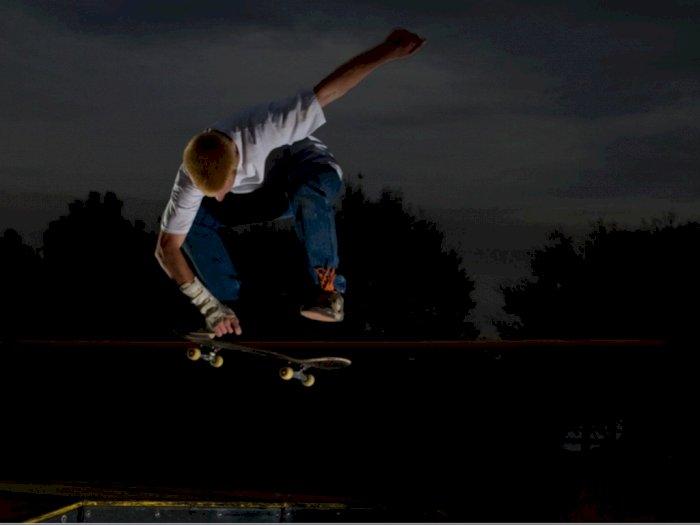 Bandel! Puluhan Remaja Main Skateboard di Menteng Saat PPKM Berujung Dibawa Polisi