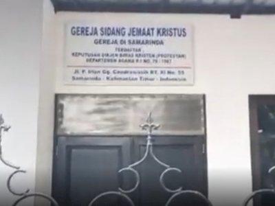 Gereja di Samarinda Diserang OTK, Polisi Turun Tangan
