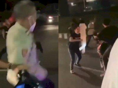 Ternyata Begini Kronologi Pengeroyokan Polisi saat Bubarkan Balap Liar di Cilandak