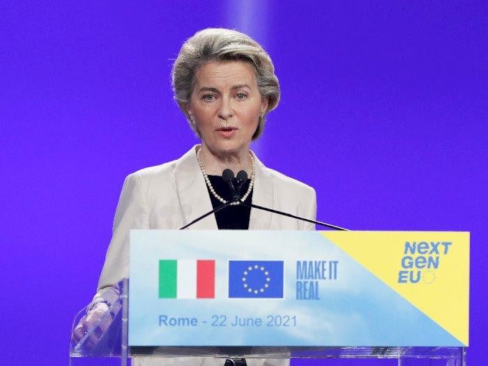 Presiden Komisi Uni Eropa Dukung Italia Jadi Juara EURO 2020
