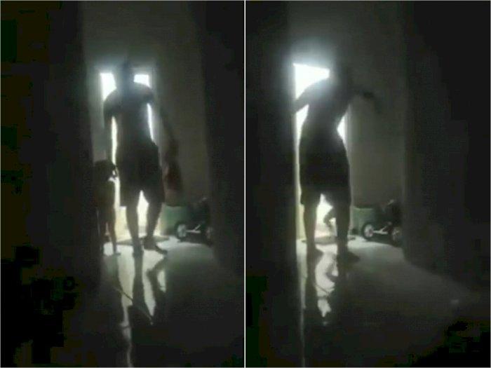 Bejat! Pria Ini Bentak dan Pukul Kepala Anak Perempuannya yang Masih Balita di Sidoarjo