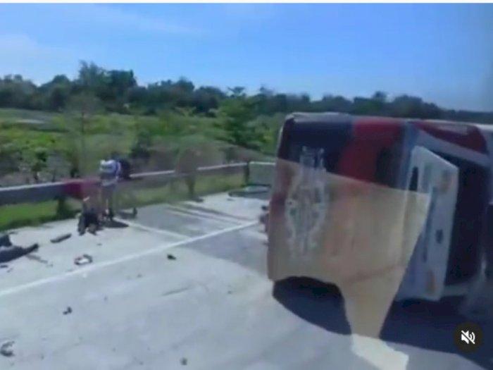 Kecelakaan Maut di Tol Pemalang, Polisi Sebut Bus Melaju dengan Kecepatan Tinggi