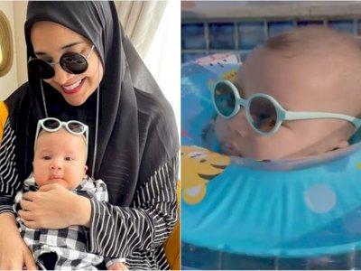 Zaskia Sungkar Bagikan Potret Kece Anaknya Pakai Kacamata saat Renang, Ya Allah Gemes