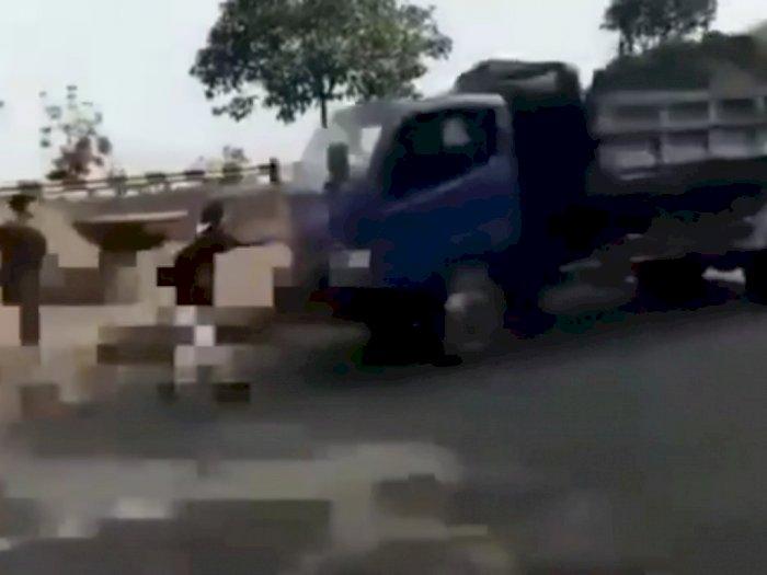 Motif ABG Buat Konten TikTok Berujung Dilindas Truk di Bekasi: Supaya Viral
