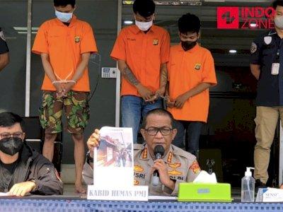 Gangster Rampok Warkop Bekasi Ambil Kotak Amal, Uangnya untuk Mabuk-mabukan