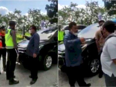 Polisi Bergerak Usut Kasus Anggota DPRD NTB dari PAN Adu Mulut dengan Petugas PPKM