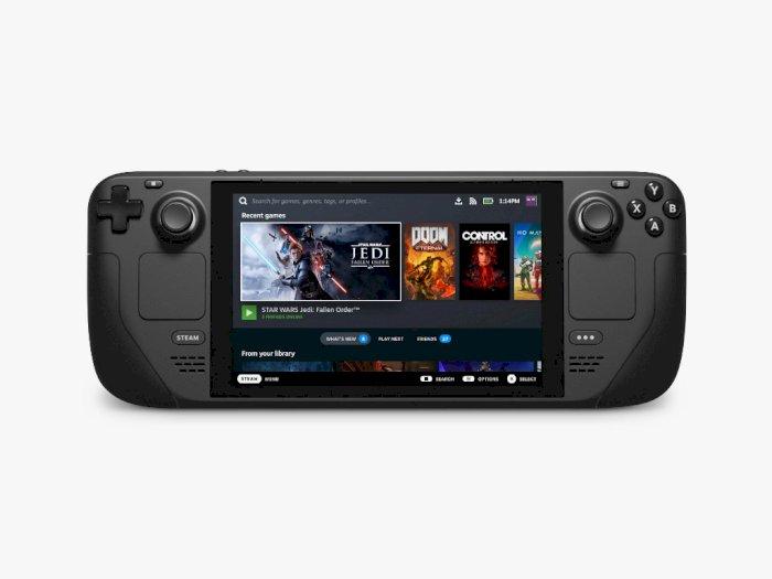 Valve Umumkan Steam Deck, PC Gaming Handheld yang Akan Saingi Nintendo Switch?
