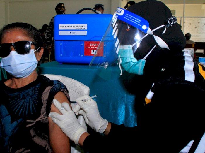 FOTO: Capaian Vaksinasi COVID-19 di NTT