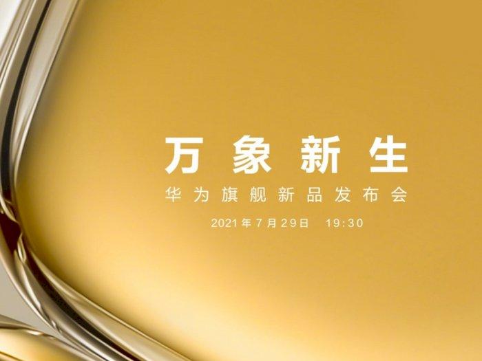 Huawei Konfirmasi Tanggal Pengumuman Smartphone P50 Series Terbaru!
