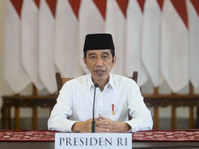 Presiden Jokowi Ajak Masyarakat Berdoa dan Bertakbir di Rumah Masing-masing