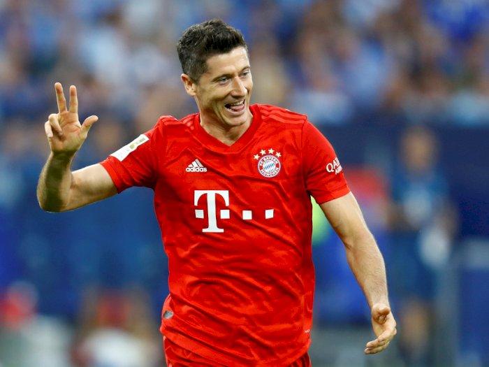 Chelsea Kepincut Boyong Lewandowski dari Bayern Munchen