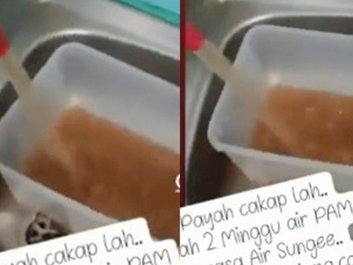 Viral Warga Medan Ngeluh Air PDAM Keruh Seperti Air Sungai, Sudah Terjadi Selama 2 Minggu