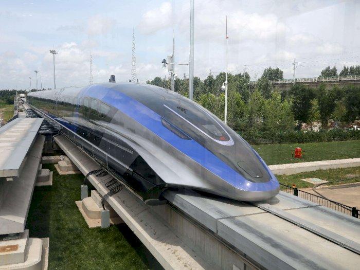 Tercepat di Dunia, China Akhirnya Luncurkan Kereta Maglev dengan Kecepatan 600 Km/Jam