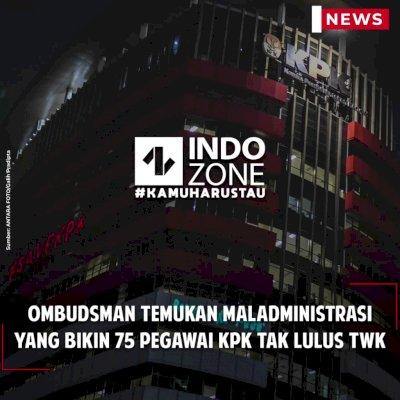 Ombudsman Temukan Maladministrasi yang Bikin 75 Pegawai KPK Tak Lulus TWK