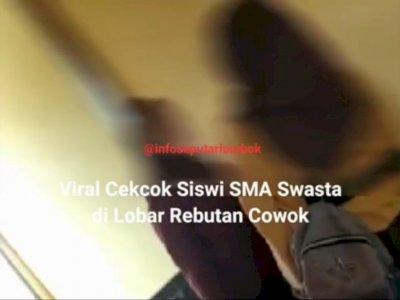 Waduh! Dua Siswi SMA di Lombok Barat Cekcok Mulut di Sekolah, Diduga karena Rebutan Pacar