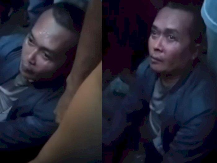 Oknum Polisi Bonyok Dihajar Massa, Tertangkap Basah Begal Motor Diminta Sumpah Tribrata