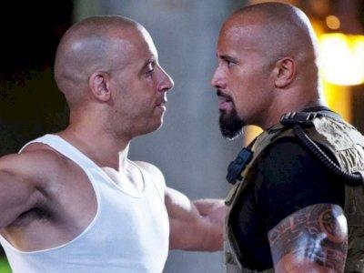'Ngambek' dengan Vin Diesel, Dwayne Johnson Tolak Tawaran Sekuel 'Fast & Furious'
