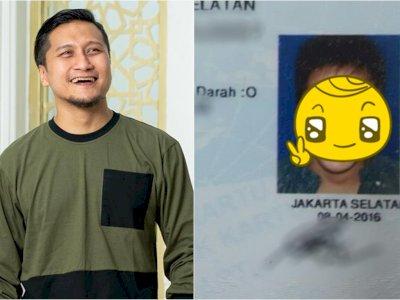Arie Untung Pamer Foto KTP, Wajah Girangnya Jadi Sorotan: Bikin KTP-nya Pasti Habis Gajian