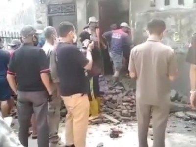 Akhirnya, Petugas Gabungan Bongkar Tembok Pembatas Jalan ke Rumah Tahfidz Qur'an