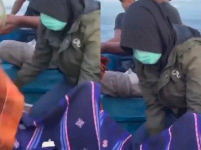 Netizen Merasa Salut dengan Bidan Desa yang Bantu Persalinan di Atas Perahu