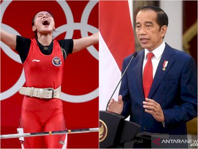 Presiden Jokowi Turut Ucapkan Selamat Kepada Lifter Windy Cantika Aisah