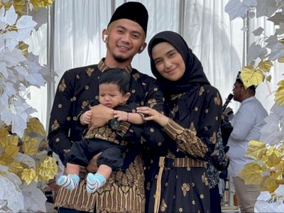 Rizki DA Unggah Foto Perdana Bareng Nadya Mustika dan Anak, MasyaAllah Senang Lihatnya
