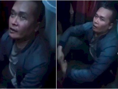 Tampang Bripka Joko Albar, Oknum Polisi yang Membegal Motor Wanita, Memelas Minta Ampun