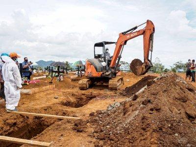 Kasus Kematian Akibat COVID-19 di RI Tertinggi di Dunia, Jawa Tengah 'Juara Satu'