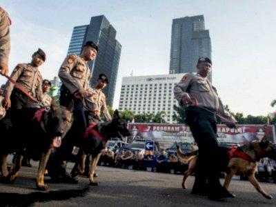 Antisipasi Demo di Jakarta Hari Ini, 3.385 Personel Gabungan Dikerahkan