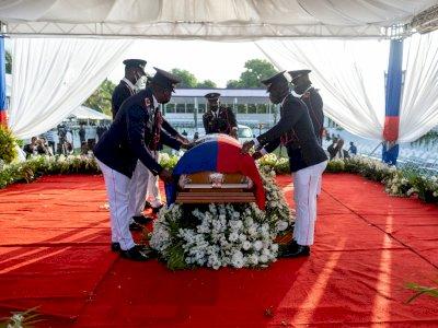 Kerusuhan Merusak Pemakaman Presiden Haiti Jovenel Moise yang Tewas Ditembak 2 Minggu Lalu