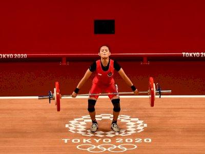 Jadi Peraih Medali Pertama di Olimpiade Tokyo,  Windy Cantika Bakal Dapat Bonus Rp1,1 M!