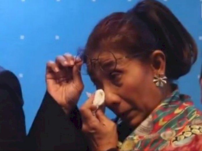 Susi Menangis Tau Bocah Vino Ditinggal Mati Kedua Orangtuanya: Andai Saya Bisa Memeluknya