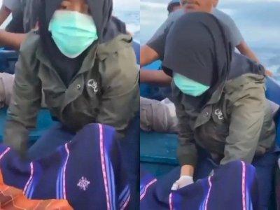 Viral Bidan Desa di Banggai Laut Bantu Persalinan di Atas Perahu, Tuai Pujian Netizen