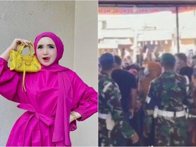 Dua TNI yang Ada di Kerumunan Selebgram Aceh Herlin Kenza Dicopot dari Jabatannya