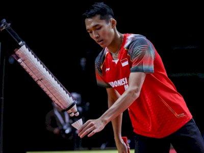 Mantap! Jonatan Christie Menang 2 Gim di Laga Pertama Olimpiade Tokyo 2020