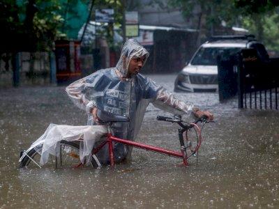 129 Orang Tewas Akibat Tanah Longsor dan Hujan Lebat di India, IMD Keluarkan Peringatan