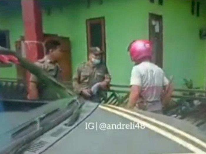Viral, Warga Ngamuk Tantang Petugas Satpol PP Kolaka Utara Baku Hantam, Diduga Salah Paham