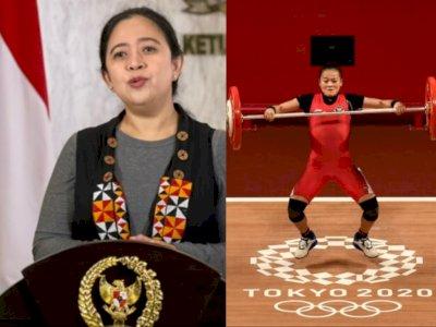 Puan Bangga Medali Pertama untuk Indonesia di Olimpiade Tokyo Dipersembahkan Perempuan