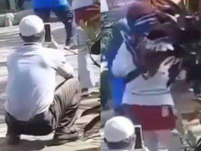 Memalukan! Pria Berpeci Jongkok Rekam Bokong Wanita saat Senam, Kabur saat Ketahuan