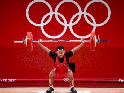 Mantap! Eko Yuli Irawan Berhasil Raih Medali Perak di Olimpiade Tokyo 2020
