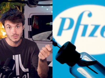 Influencer Ini Ungkap Ditawari 2.000 Euro untuk Kritik Vaksin Pfizer!