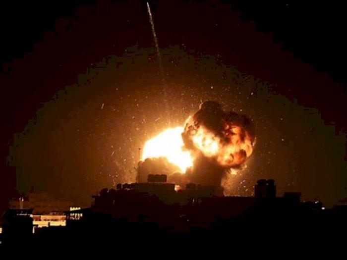 Israel Gempur Dua Lokasi Militer Palestina di Gaza Pada Minggu Malam