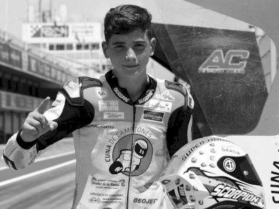 Tragis! Pembalap Moto3 Berusia 14 Tahun Tewas Dalam Kecelakaan di Sirkuit Aragon Spanyol