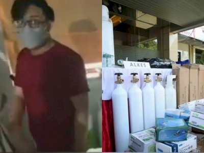 Astaga! Demi Beli Narkoba, Pria di Jakbar Jual Tabung Oksigen Palsu, Rp4 Juta Per Tabung