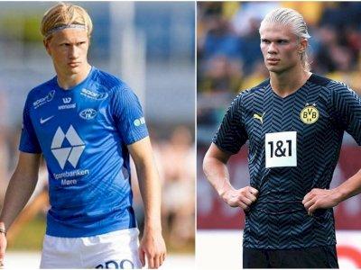 Albert Braut Tjaland, Sepupu Erling Haaland yang Cetak Gol Saat Debut Senior di Molde