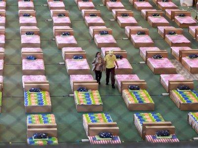 Kasus Terus Melonjak, Thailand Sulap Gudang di Bandara Jadi RS Lapangan COVID-19