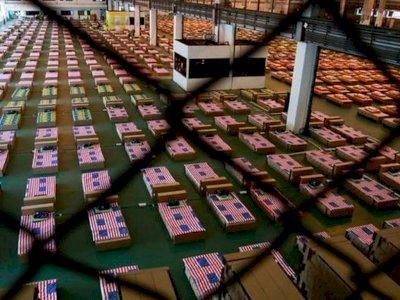 Thailand Sulap Bandara Jadi Rumah Sakit Buat Pasien Covid-19 dengan 1.800 Tempat Tidur
