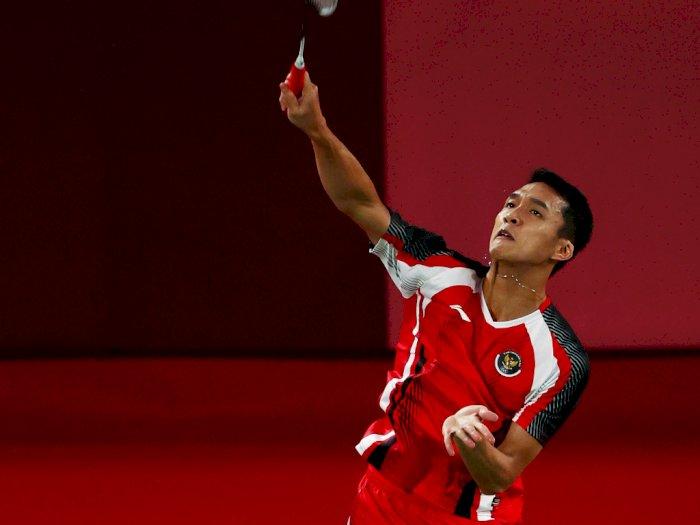 Olimpiade Tokyo 2020: Kalah dari Wakil China, Jonatan Christie Gagal ke Perempatfinal
