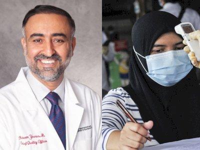 Dokter AS Faheem Younus Kritisi Penggunaan Thermogun di Indonesia: Tidak Efektif!